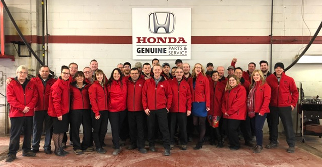 Career Opportunities Trent Valley Honda