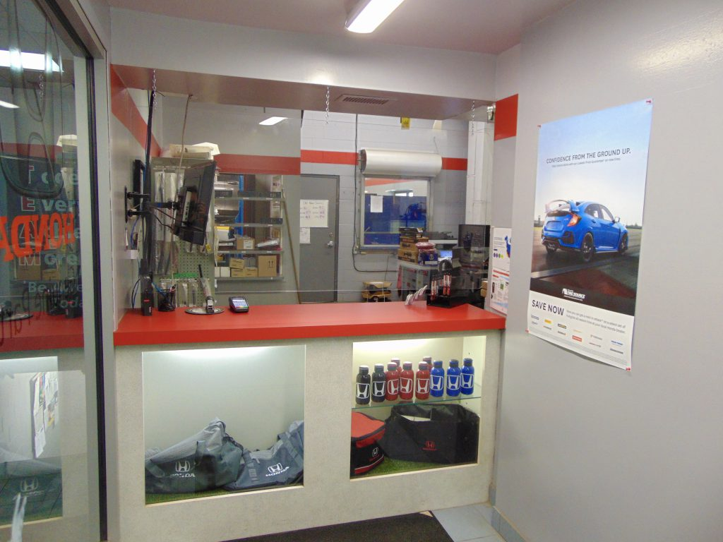 Trent Valley Honda Parts Desk