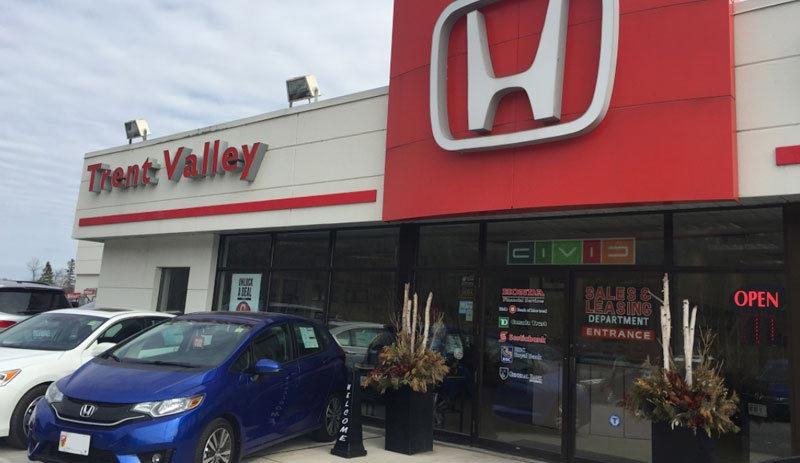 About Trent Valley Honda