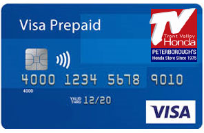 Visa Card, TV Honda